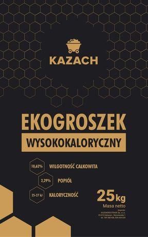 Ekogroszek Kazach min 26kj dostawa gratis