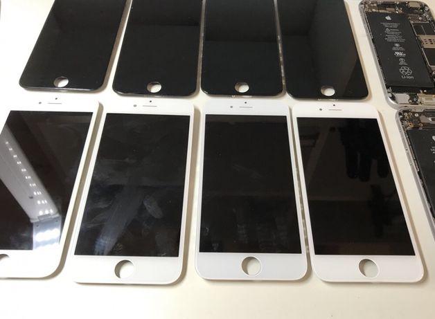 Экран Дисплей iPhone 6 / 6 Plus Белый/Черный оригинальный оригинал