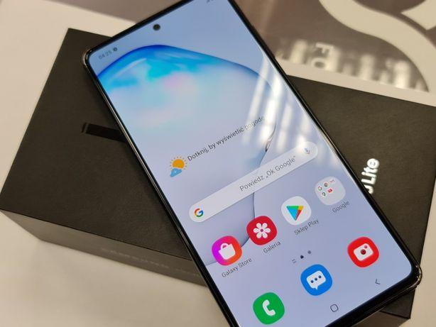 30.06.20! Samsung Galaxy Note 10 Lite Dual SIM/ Black/ Gwarancja