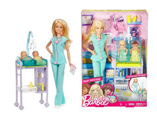 Кукла Барби Педиатр Доктор Врач Barbie Careers Baby Doctor Оригинал