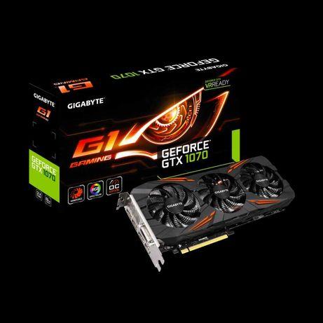 Gigabyte Geforce GTX 1070 G1 Gaming 8Gb como nova