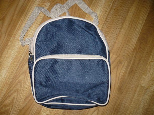 Рюкзак новый для сменки синий