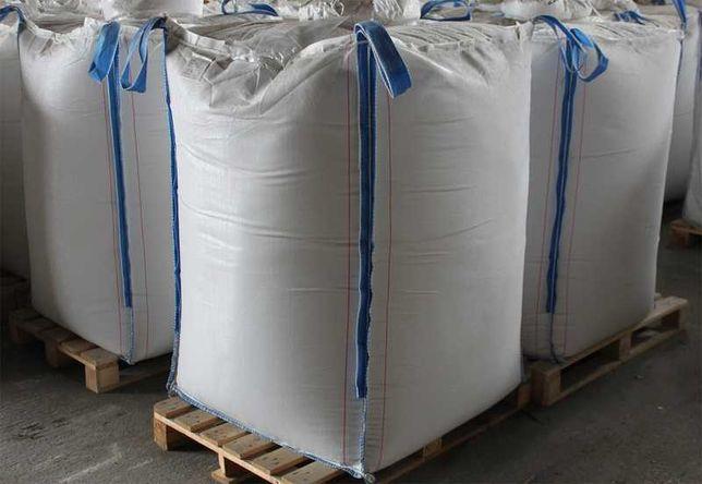 Nowy Worek Big Bag beg 90/90/100 cm lej zasyp/wysyp 1500 kg HURTOWNIA