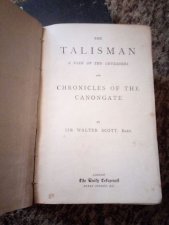 Книга Талисман на английском