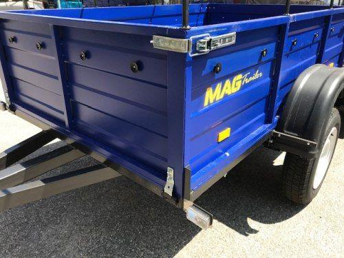 Легковий посилений причіп моделі MAG 201 А-500-2,0
