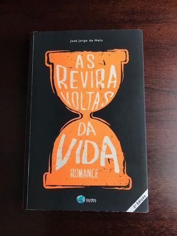 """Livro """"As reviravoltas da vida"""", de José Jorge de Melo"""