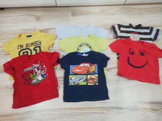 Ubranka dla chłopca roz 74-80