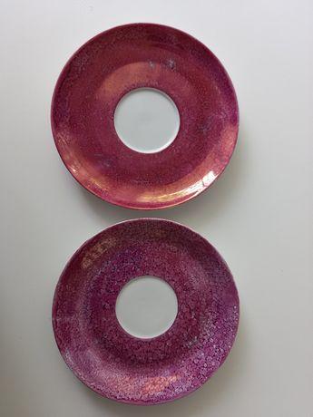2 spodki- porcelana Ćmielów