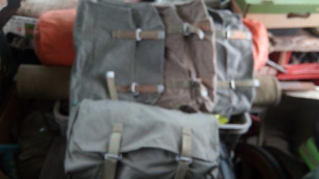 Zabytkowe torby wojskowe rekonstrukcja loftt