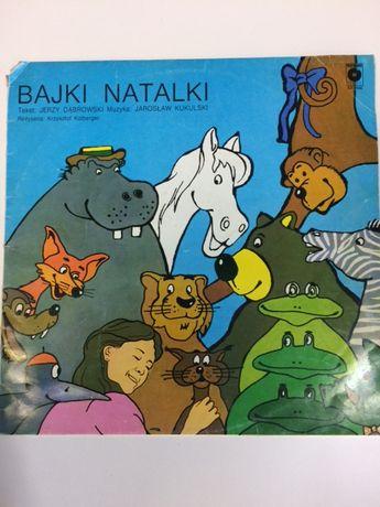 """Dla dzieci """"Bajki Natalki"""" płyta winylowa 1987r"""