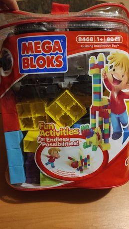 Конструктор Mega Bloks 70шт + машинка