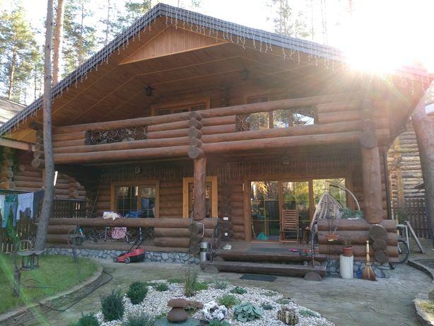 Дикий сруб деревянный дом баня лучший лес