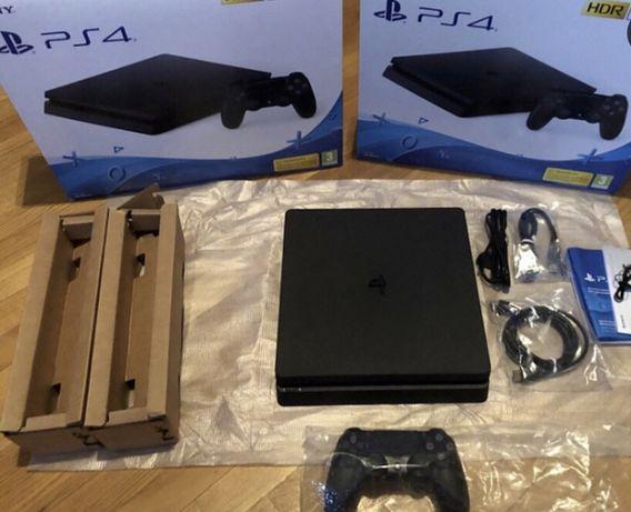 PS4 Slim 1Tb как новая есть игры