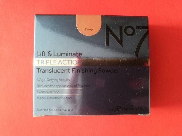 No.7 Lift & Luminate Triple Action Translucent Finishing Powder DEEP
