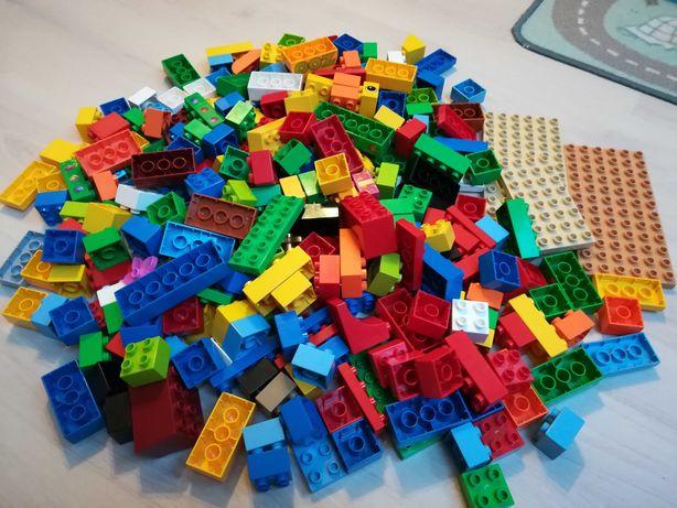 Klocki lego Duplo różne kolorów 120 sztuk