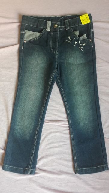 Jeansy r.98