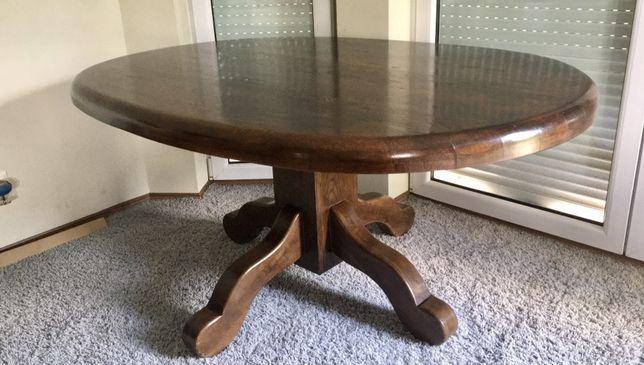 Stół dębowy owalny