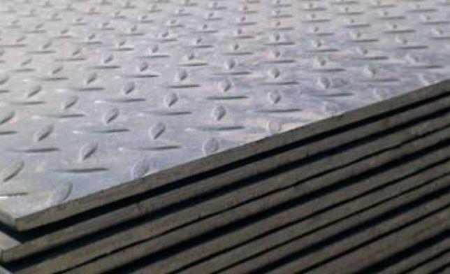 Лист металлический стальной/железный 1.5, 2, 3, 4, 5, рифленый, гладки