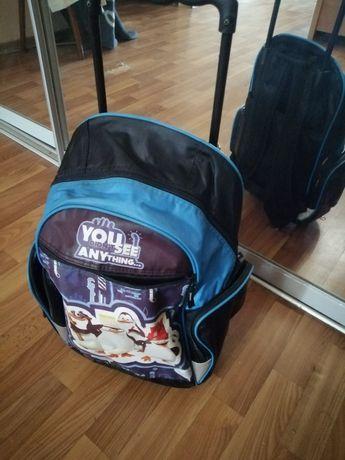 Чемодан - рюкзак