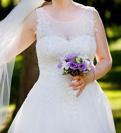 Suknia ślubna agnes 14190