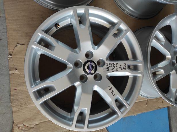 258 Felgi aluminiowe VOLVO R18 5x108 otwór 63.3 bardzo ładne