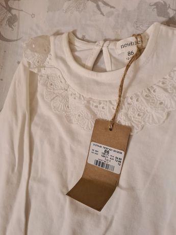 Białe body Newbie najnowsza kolekcja jesien 2020
