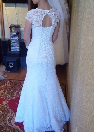 """Ексклюзивне весільне плаття """"рибка"""""""