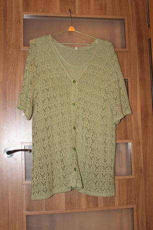 Rozmiar XXL dwuczęściowa bluzka damska jak nowa do sprzedania