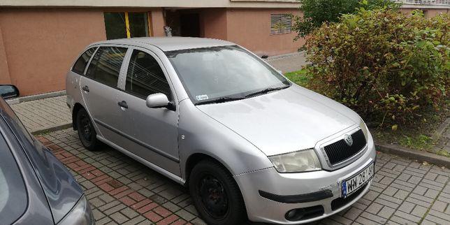 Skoda fabia 1,4 diesel 2006 , fv23%, 2x koła, spalanie 5,5 po mieście