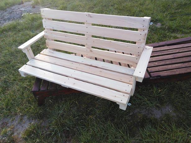 Siedzisko do huśtawki olchowe ogrodowa , huśtawka drewniana. 130 cm