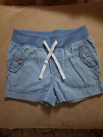 Шорты лёгкий джинс