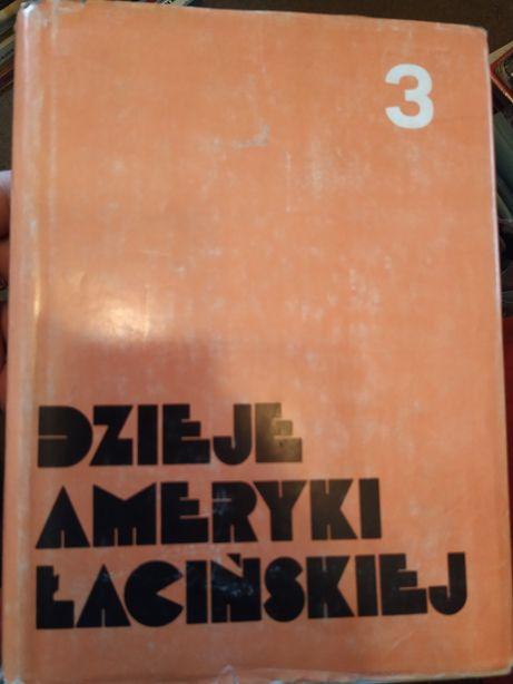 Dzieje Ameryki Łacińskiej 3 oraz Wszechocean Szymborscy