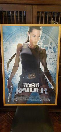 Lara Croft Tomb Raider -Quadro cartaz original Paramount 2001