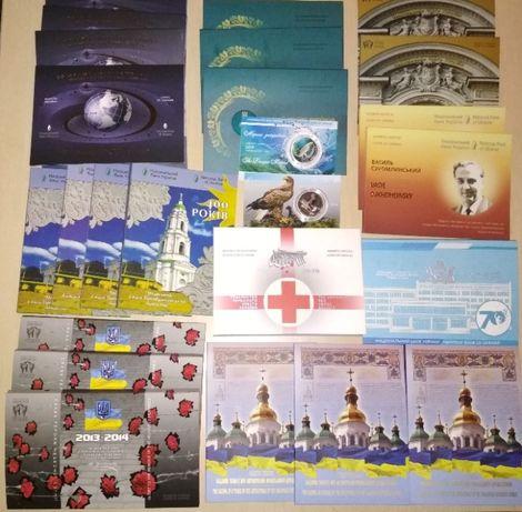 Памятные монеты и банкноты НБУ в сувенирных упаковках