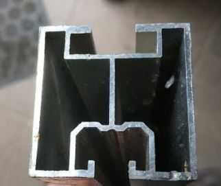 Profile aluminiowe do paneli fotowoltanicznych 40x40