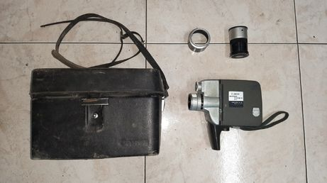 Câmera de Filmar Vintage Canon motor zoom 8