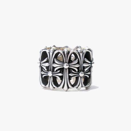 кольцо перстень chrome hearts cemetery cross margiela vivienne alyx