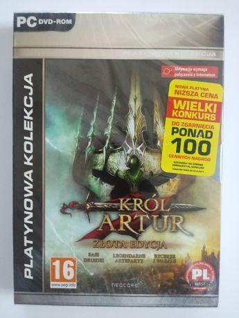 Gra PC Król Artur złota edycja nowa folia