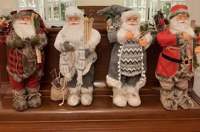 Mikołaje ozdobne - dekoracja
