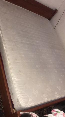 Кровать с матрасом ортопедическим 200*160
