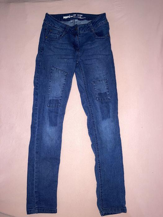 Spodnie jeansy dziewczęce, 146 Choszczno - image 1