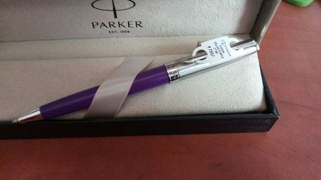 Шариковая ручка Parker Fusion Deluxe Purple CT