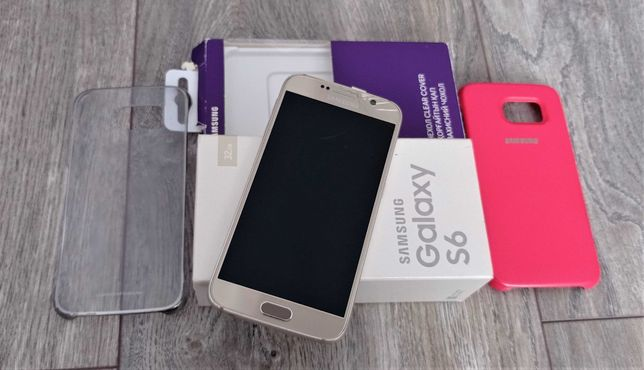 Samsung Galaxy S6 32GB Gold Platinum UA G920F Официальный оригинал
