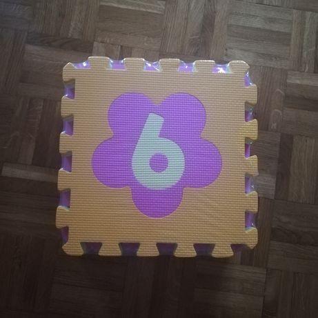 Tapete puzzle bebé