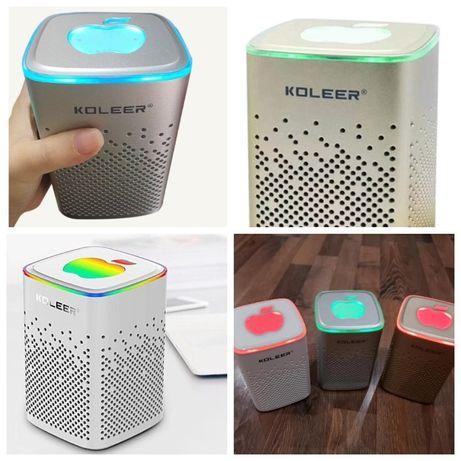 Портативная Bluetooth Колонка Koleer S818.Оригинал.Лучший звук.1800руб