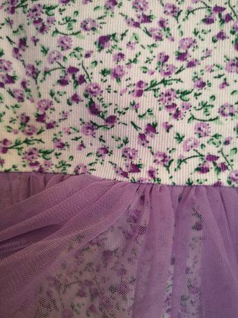 Платье нарядное на девочку 116 рост