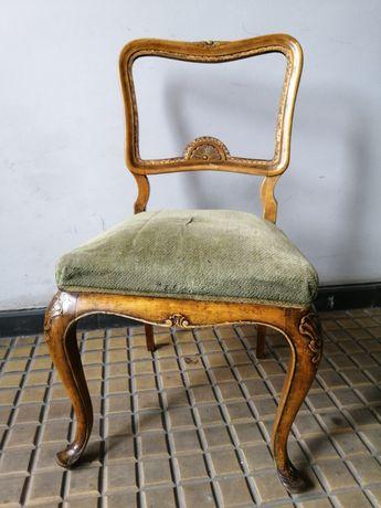 Chippendale Oryginał Krzesło na Sprężynach
