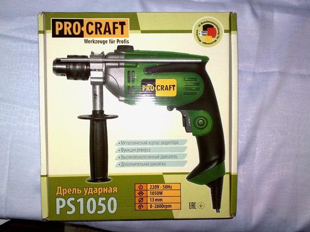 Дрель ударная Procraft PS1050.
