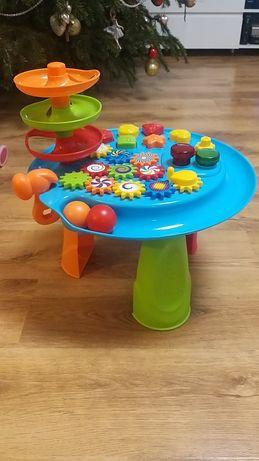 stolik edukacyjny SMIKI zabawka Busy Balls & Gears Station