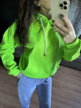 Bluza neon livi S limonka